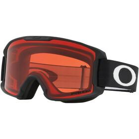 Oakley Line Miner Lunettes de ski Enfant, matte black/w prizm snow rose